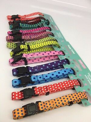 Set of 12 Puppy & Co Puppy Dog Whelping Collar ID identification S/M or M/L