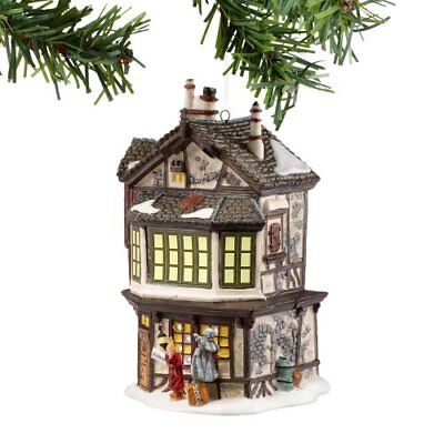 Dickens A Christmas Carol Village from Department 56 Ebenezer Scrooge's House,