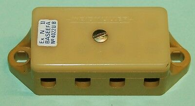 WEIDMULLER KS4 TERMINAL BLOCK 4 WAY with COVER