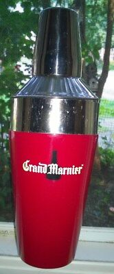 Grand Marnier Large Stainless Steel Cocktail Drink Mixer Shaker