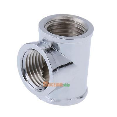 T-Shape 3 Way Adapter G1/4 Water Pipe Connector Part for PC Water Cooling System
