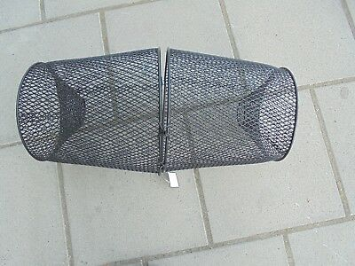 "Metal crayfish,prawn,crab,bait fish trap 17"" long."