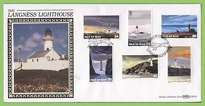 Isle of Man 1996 Lighthouses set on Benham First Day Cover