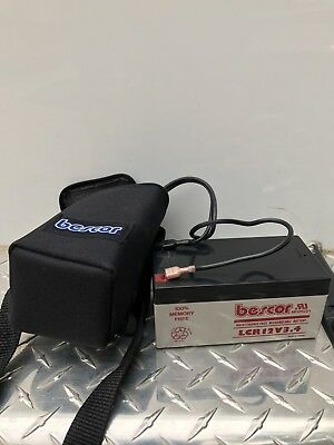 Bescor 12 Volt 3.4Ah Battery Pack with Charger
