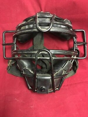 Vintage MacGregor Baseball Catcher's Mask Black Baseball