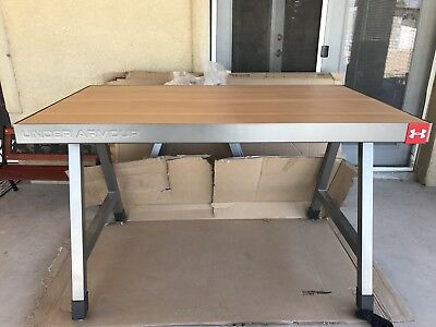 Under Armour retail display table Retail Fixture Commercial Table work Table