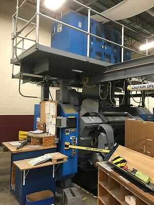 2000 Goss Universal Web Offset Printing Press with Enkel Shaftless splicers -