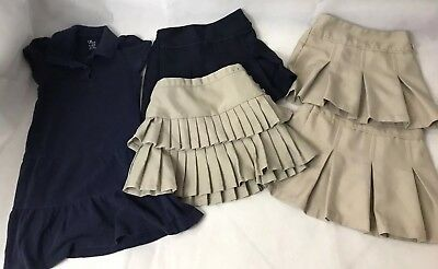 Girl's school uniforms size mix 5/6 Lot of 5.