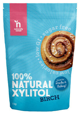 Naturally Sweet Birch Xylitol 1000g Pouch
