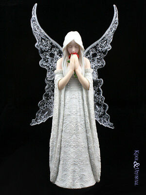 "Anne Stokes Statue: ""Only Love Remains"" Gothic Angel"