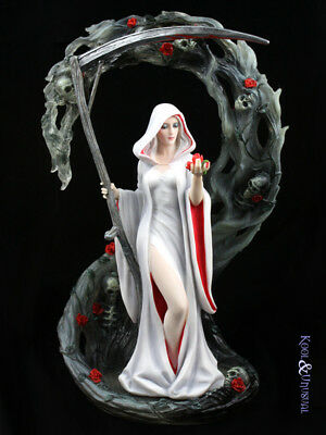 "Anne Stokes Statue: ""Life Blood"" Gothic Reaper Death"