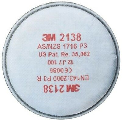 3M 2138 GP2/GP3 Particulate Filter; Organic Vapour/Acid Gas Relief x 1 Pack