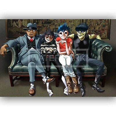 New Gorillaz Let Me Out Custom Silk Poster 20x13 Inch Wall Decor