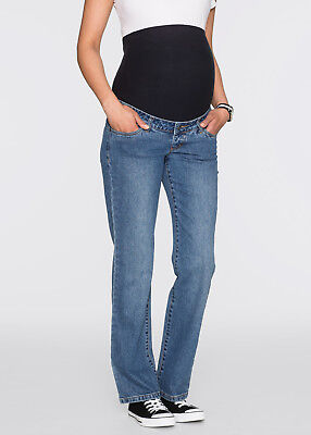 Stretch Umstandsjeans in blue stone 878