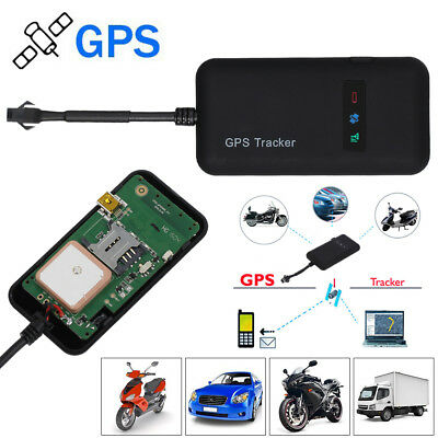 Mini Car GPS GSM Realtime Tracker Locator Spy Personal Vehicle Tracking Device