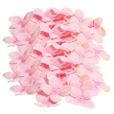 200pcs Pink Artificial Flowers Silk Rose Petals for Party Wedding Decor