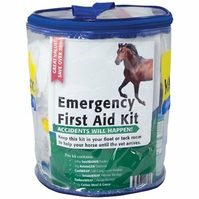NEW Kelato First Aid Kit First Aid & Supplements Horse Riding Care Grooming