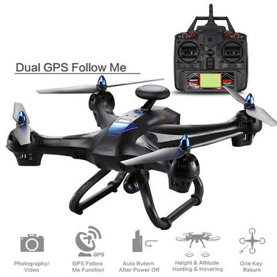 X183 5GHz RC Drone With HD 720P Camera Dual GPS Follow Me Quadcopter UK Stock