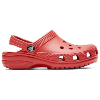 Red Crocs Kids' Classic Clogs Outdoor Clothing Red