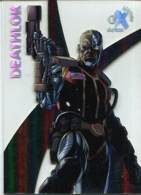 Spiderman Fleer Ultra 2017 EX Century Chase Card EX20 Deathlok