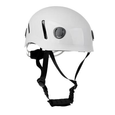 Gray White Climbing Hard Hat Helmet Outdoor Rescue Equip CE EN Approved
