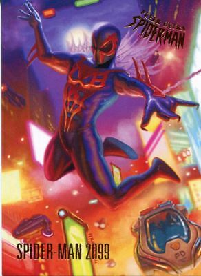 Spiderman Fleer Ultra 2017 Base Card #84 Spider-Man 2099