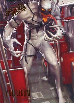 Spiderman Fleer Ultra 2017 Base Card #68 Anti-Venom