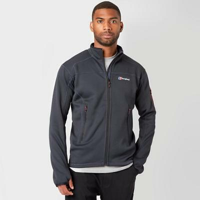 Grey Berghaus Mens Pravitale Fleece Jacket 2 Outdoor Clothing One Colour