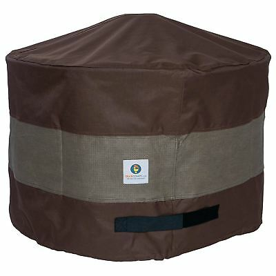 "Duck Covers UFPR3620 Ultimate Round Fire Pit Cover, 36"" D x 20"" H"
