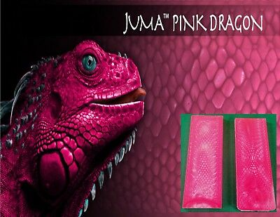 "2  Pink Dragon Juma .125 "" 1/8"" Scales 2"" x 6"" - Knife Handle Material"