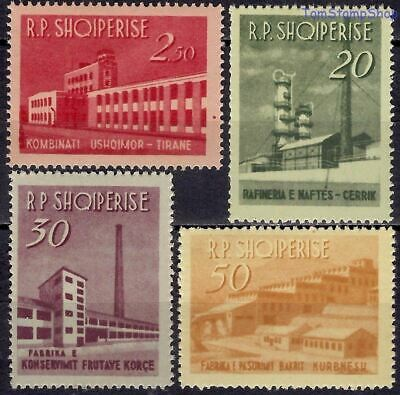 Albania 1963 Industry Commerce Buildings Food Factory/Oil Refinery/Metallurgy NH