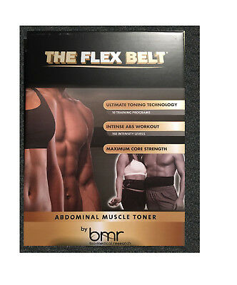 BrandNew The Flex Belt ab System Toning belt Muscle Body Exerciser System 10p150