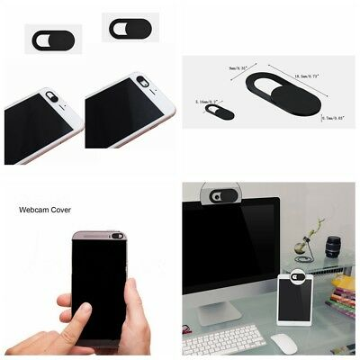 2Pcs WebCam Shutter Cover Web iPad Camera Laptop  Secure Protect your Privacy