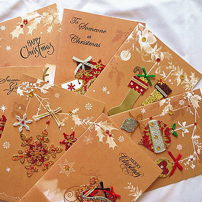 Merry Christmas Card with Envelope Greeting Card Kids Gift Postcard Stationery@@