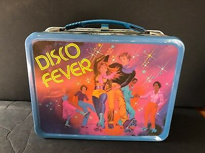 1980 Disco Fever Metal Lunch Pail