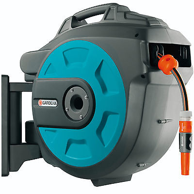 "Gardena Wall Mounted Auto Hose Reel 1/2"" / 12.5mm 35m"