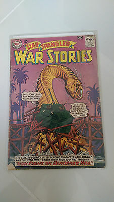 Star Spangled War Stories #119 (1965) Dc Comics Silver Age Classic 1St Print!