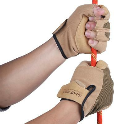 Fingerless Half Finger Hunting Bicycle Cycling Climbing Sport Gloves Mitten