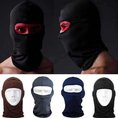Balaclava Motorcycle Outdoor Bike Neck Winter Ski Full Face Mask Cover Hat Cap