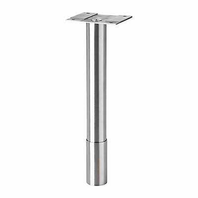 IKEA GODMORGON Round Stainless Steel Leg for Bathroom Cabinets (22/25cm)