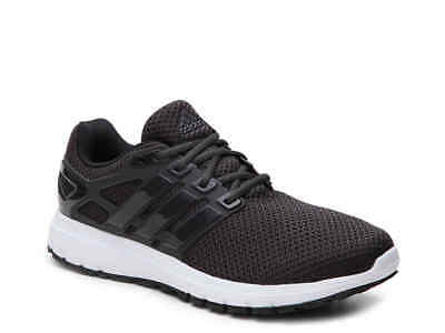 Men's Adidas Energy Cloud Black Running Athletic Shoes BY9058 Size 9.5 Wide