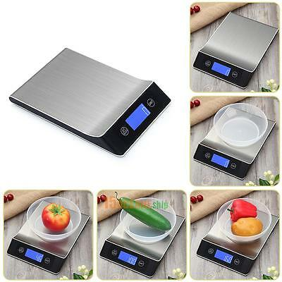 5kg/1g Digital Electronic Food Weighing Scale Balance Kitchen Cook Measure Tool