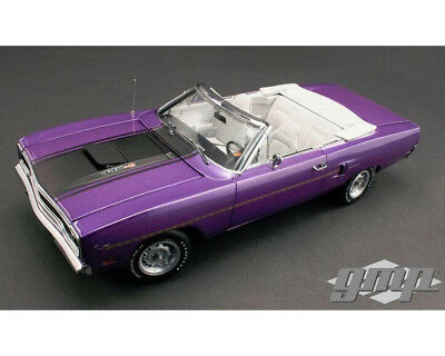 1970 Plymouth Road Runner Convertible in Violet 1/18 GMP Diecast Model (New)