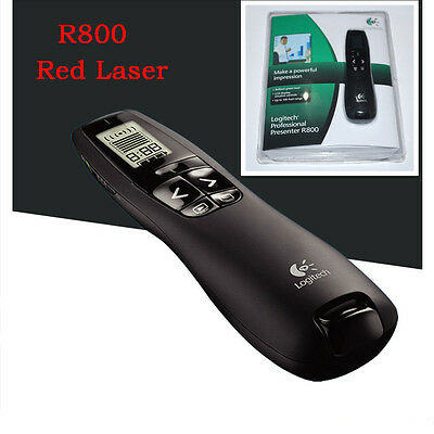 Logitech Presenter R800 With Red Laser With Original Packaging Without Battery