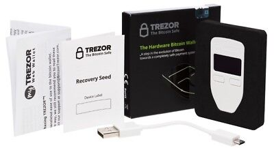 Trezor Cryptocurrency Hardware Wallet  - Sealed new