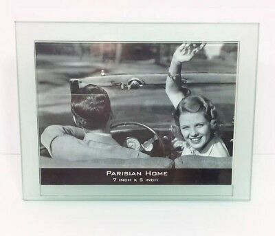 Set Of 12 Glass Frameless Photo Frame With Clips For 4x6 Inch Photo