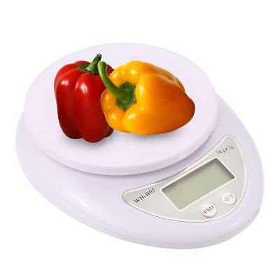 5KG Digital Weighing Postal Electronic Kitchen Household Scale Food Cooking O1L2
