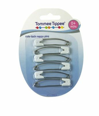 Tommee Tippee Slide-Lock Nappy Pins Free Shipping!