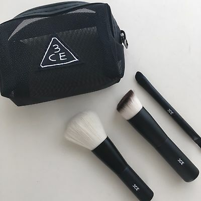 [Stylenanda 3CE] Eyes Mesh Brush Kit Trio Make up brush Set / Korea-Beauty