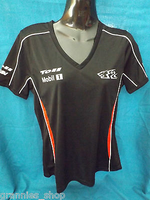 HRT Holden Racing Team Ladies T shirt Size 8    New with Tag  -  V Neck